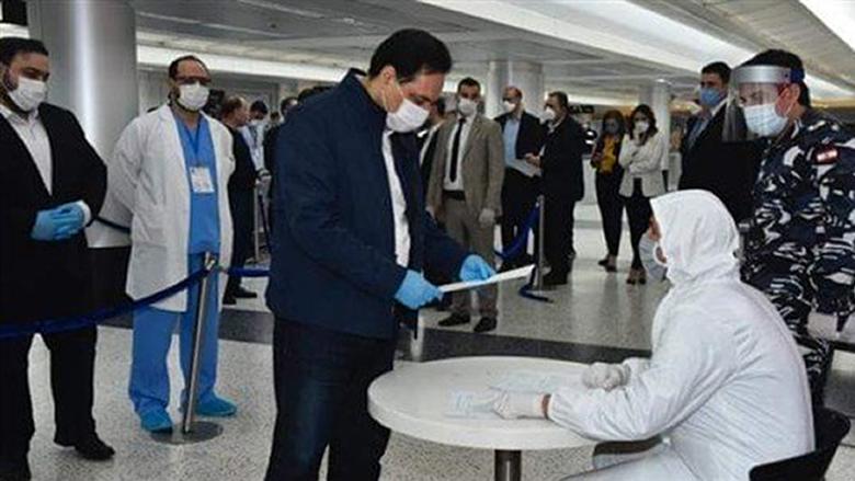 دياب يطّلع على إجراءات قوى الأمن حول تدابير استقبال اللبنانيين العائدين في المطار