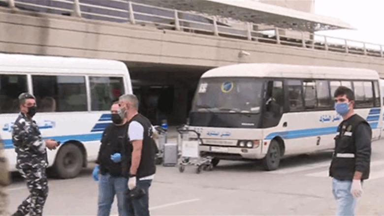 مغادرة حافلات المسافرين الى الحجر لانتظار نتائج الفحوصات... حسن: ما حصل اليوم نموذج يُعتد به لحماية اللبنانيين
