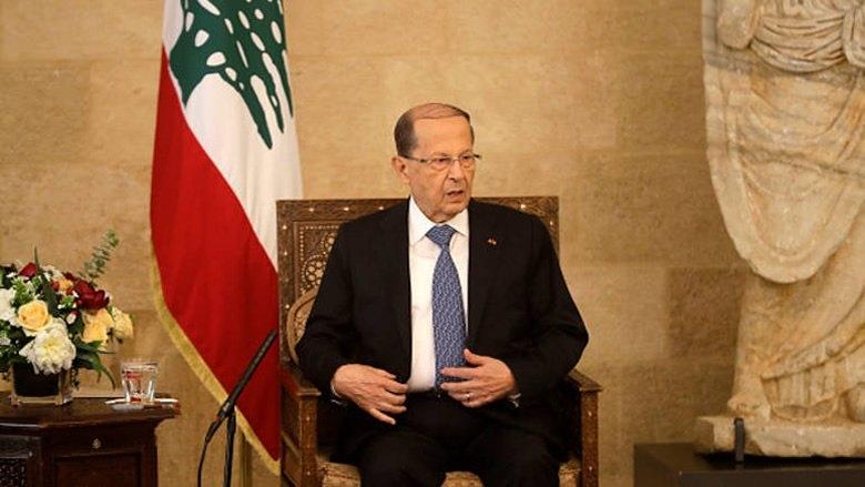 عون يتابع عملية عودة اللبنانيين المغتربين