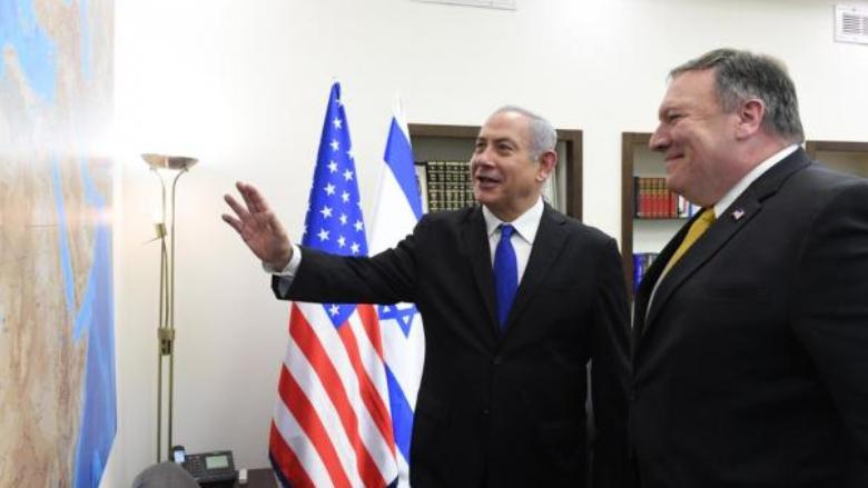 """""""بلومبيرغ"""": واشنطن تتجه للحرب.. وهذه أسباب زيارة بومبيو لإسرائيل"""