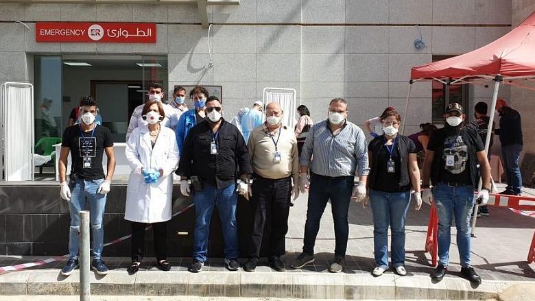 """""""التقدمي"""" - عاليه: فحوصات PCR عشوائية في مستشفى الايمان"""