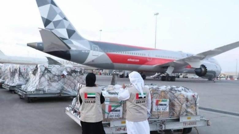 الإمارات ترسل مساعدات طبية إلى الأراضي الفلسطينية