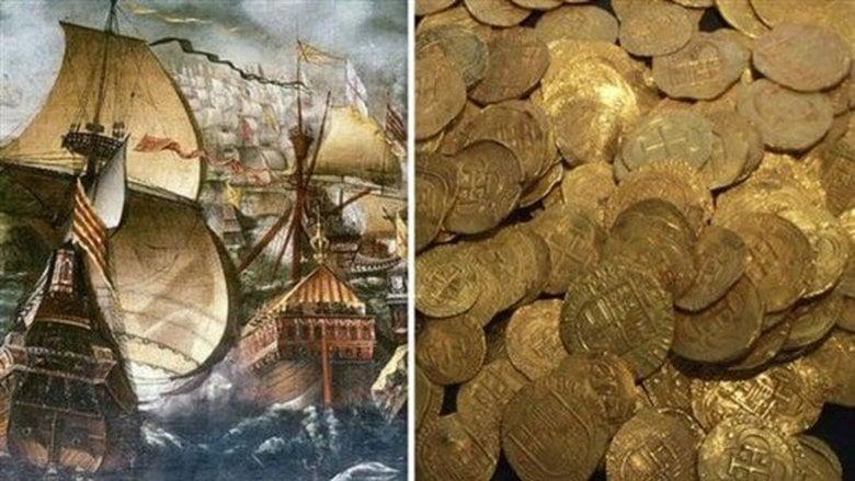 العثور على كنز دفين من الذهب لم يُمسّ منذ 400 عام
