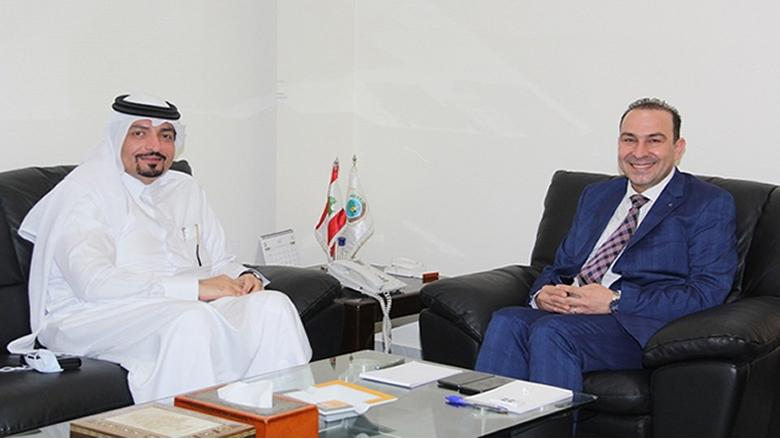 مرتضى بحث وسفير قطر في سبل تنمية العلاقات الثنائية