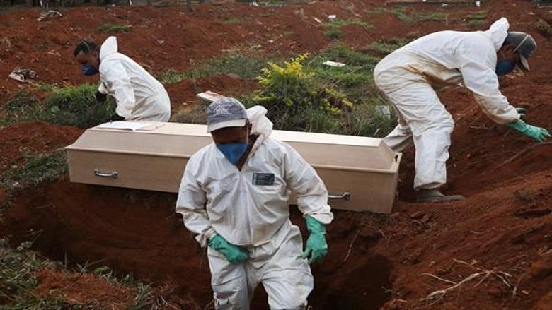 965 حالة وفاة جديدة بكورونا في البرازيل