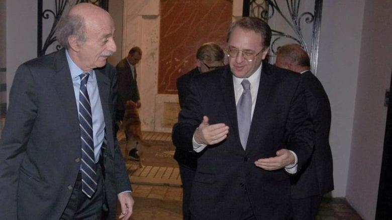 جنبلاط وبوغدانوف عرضا التطورات هاتفياً.. تأكيد على التواصل والعلاقة التاريخية