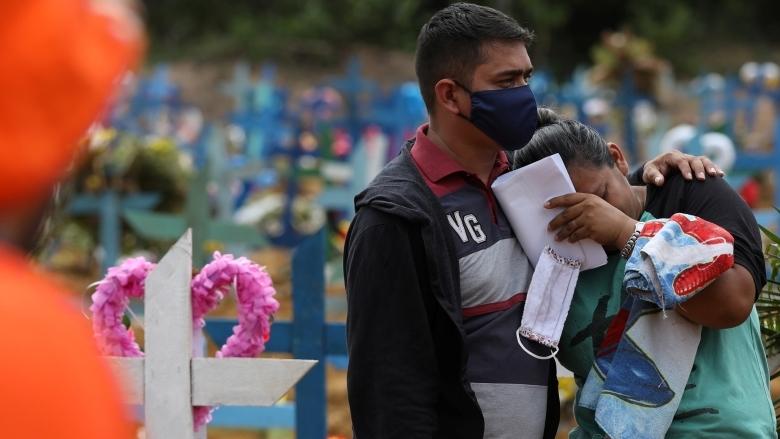 البرازيل ثاني بلد من حيث الوفيات: أكثر من الف حالة في يومٍ واحد