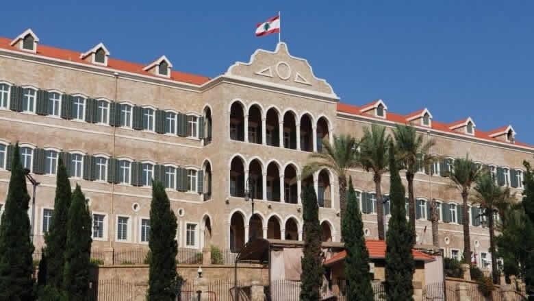 رئاسة مجلس الوزراء: لم يحصل أي التزام أو نقاش أو تبنّ لقانون قيصر للعقوبات الاميركية