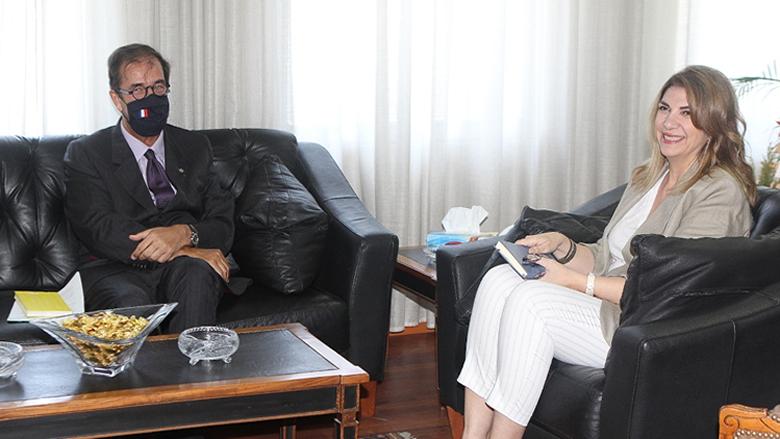 نجم وفوشيه بحثا في التعاون القضائي بين لبنان وفرنسا