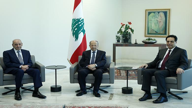 اجتماع رئاسي في قصر بعبدا ومعينون اقسموا اليمين