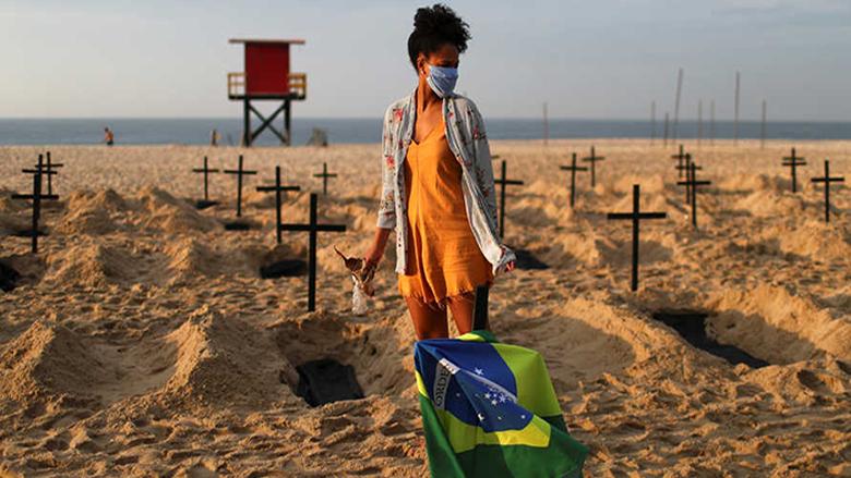 """البرازيل ثاني أكثر دول العالم تضرراً من """"كورونا"""""""