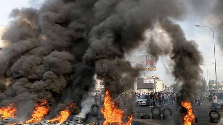 مظاهرات وقطع طرقات في مختلف المناطق اللبنانية