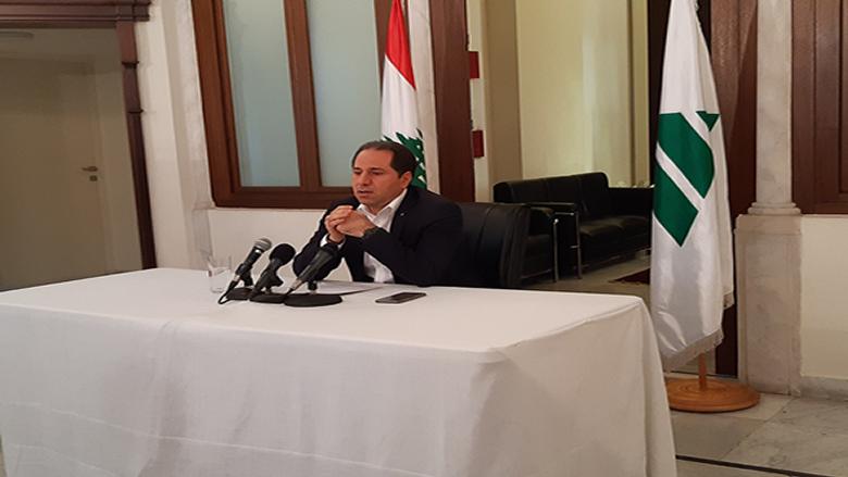 الجميل: العقوبات أصبحت على كل اللبنانيين ولبنان كله يدفع الثمن