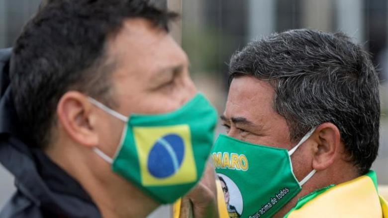 البرازيل الثانية عالميا بوفيات كورونا