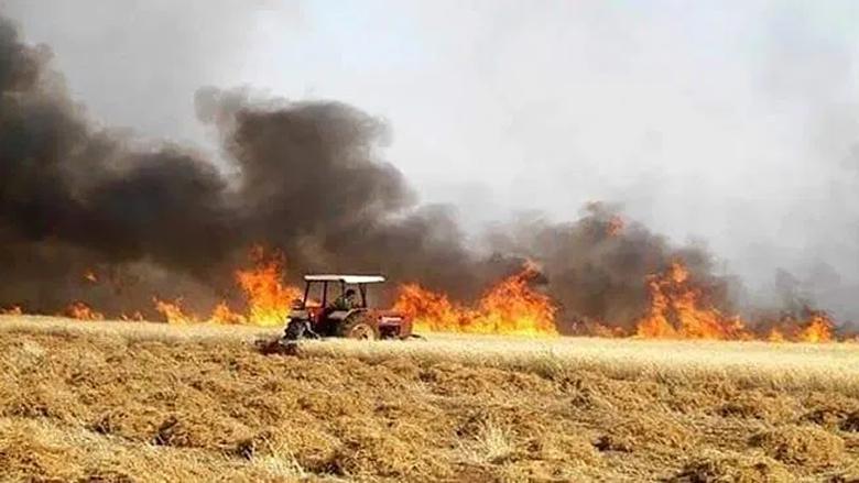محافظ بعلبك الهرمل: الحرائق في قضاء الهرمل التهمت 150 دونما