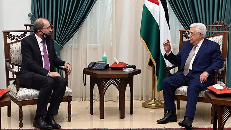 وزير الخارجية الأردني التقى عباس في رام الله وسط توتر مع الاسرائيليين