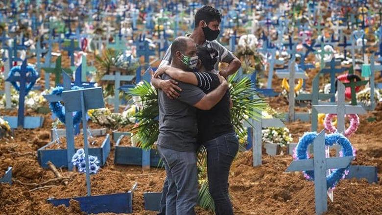 """55 ألف إصابة باليوم.. البرازيل على طريق """"اللقب المأساوي"""""""