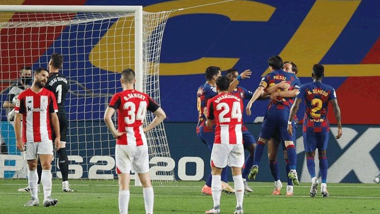 برشلونة يستعيد من جديد الصدارة