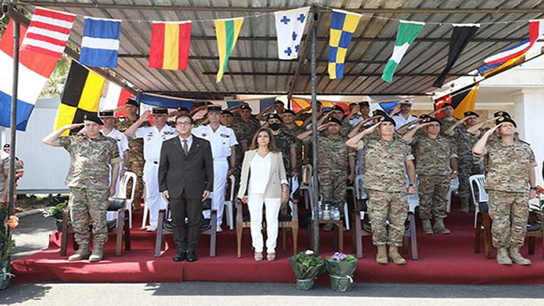 البحرية اللبنانية تسلمت 4 زوارق هبة فرنسية في إطار خطة التعاون المشتركة