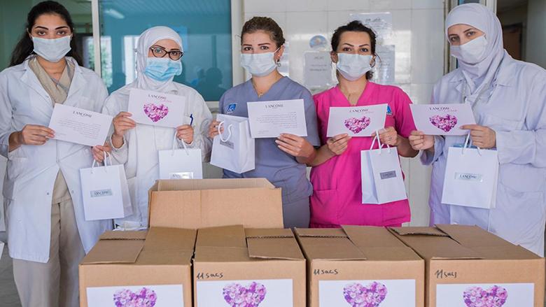 لوريال المشرق العربي تدعم الجهود المحلية لمكافحة وباء كورونا في لبنان