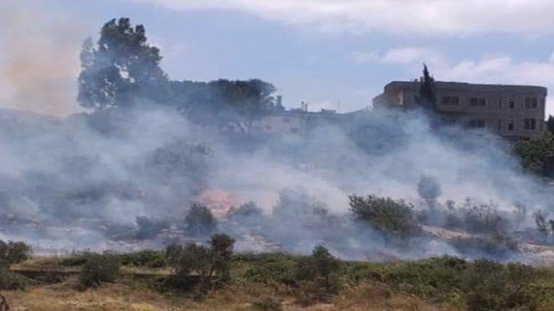 اندلاع حريق في وادي خالد والدفاع المدني عمل على اطفائه