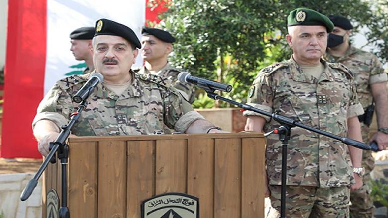 رئيس الأركان: القيادة حريصة على حقوق العسكريين وعائلاتهم