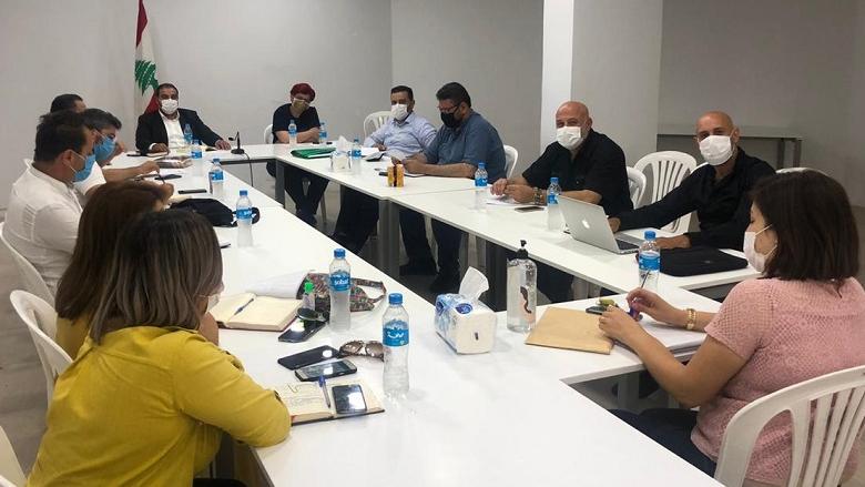 """إجتماع لمكاتب التنمية في """"التقدمي"""" ناقش الأوضاع المعيشية"""