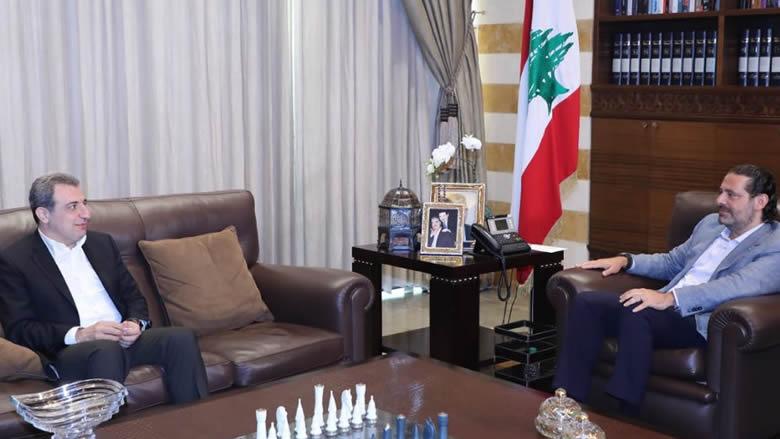 الحريري بحث الأوضاع السياسية مع ابو فاعور