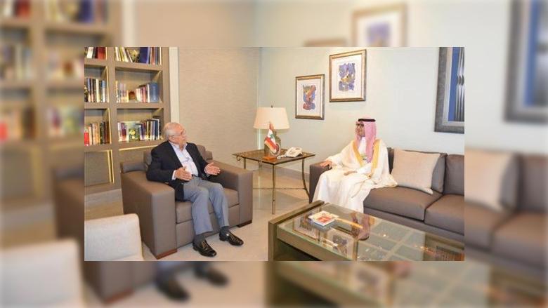 ميشال سليمان استقبل السفير السعودي: كلّما اشتدت الأزمة الاقتصادية نقول يجب تصحيح العلاقة مع المملكة