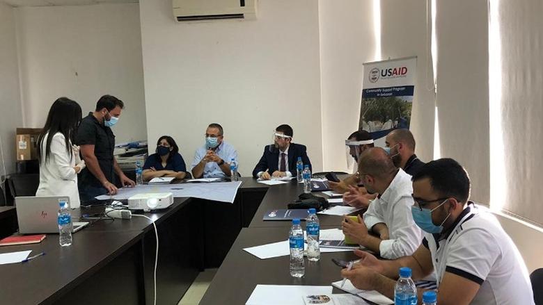 مؤسسة مياه لبنان الجنوبي اطلقت مشروع إنشاء خزان مياه لتغذية منطقة الشرحبيل