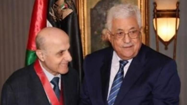 الرئيس الفلسطيني طلب تنكيس الأعلام حدادا على محسن ابراهيم
