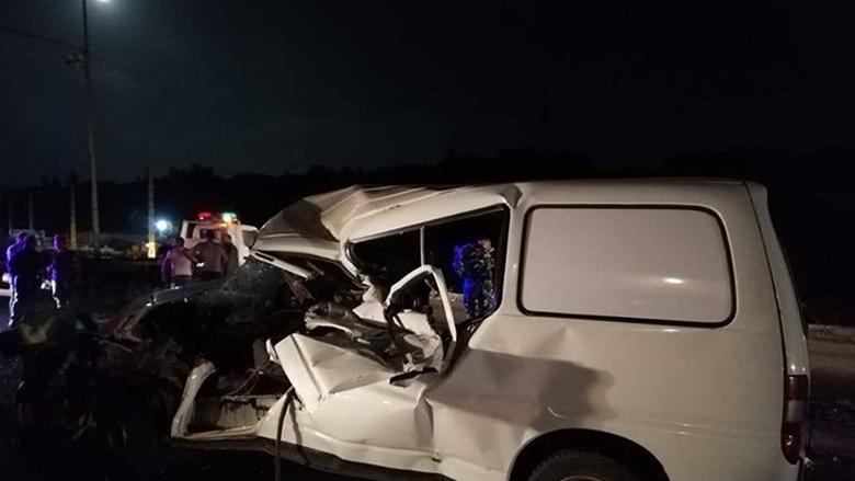 حادث سير مروع في المصيلح النبطية