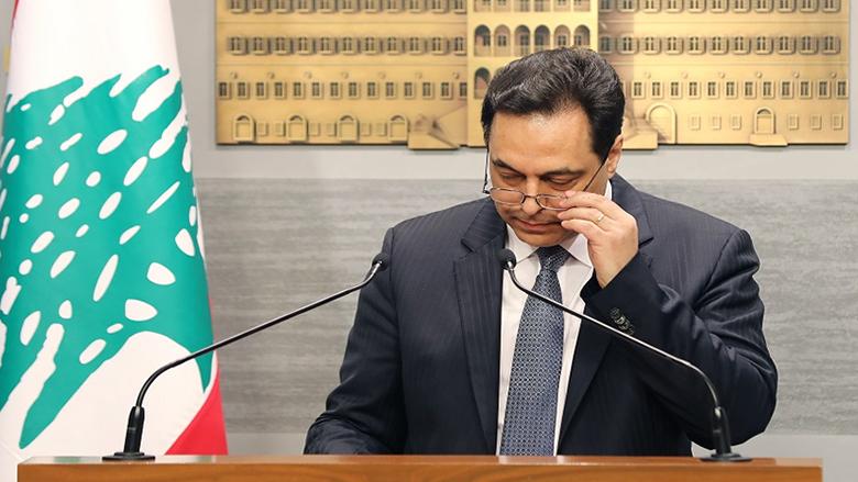 دياب: رئاسة الحكومة تستنكر كلّ شعار طائفيّ مذهبيّ