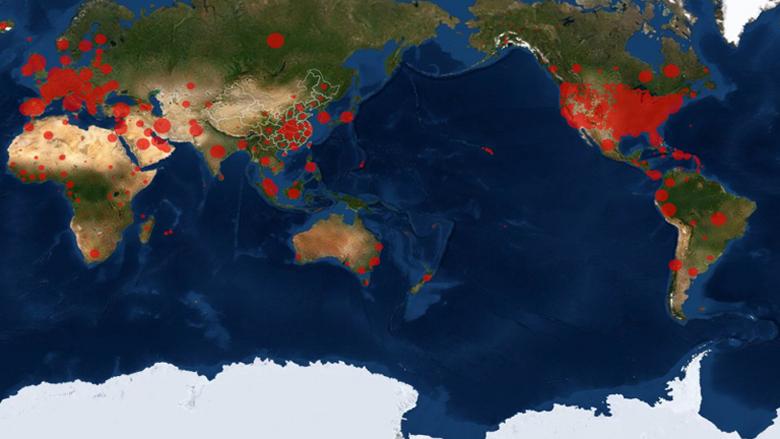 الإصابات بكورونا عالميا تتجاوز 10 مليون والوفيات 511028