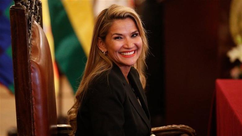 رئيسة بوليفيا تعلن إصابتها بفيروس كورونا المستجدّ