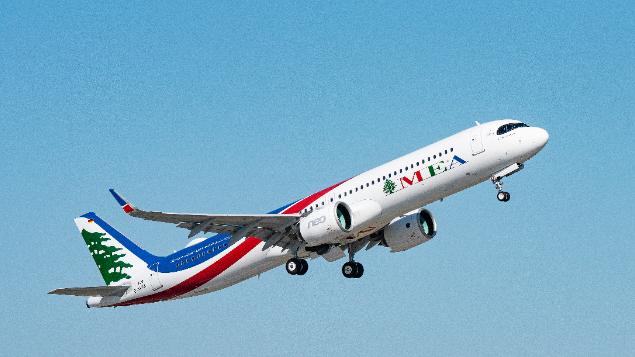 """""""الميدل ايست"""" تستلم إيرباص A321neo.. إليكم مواصفاتها"""