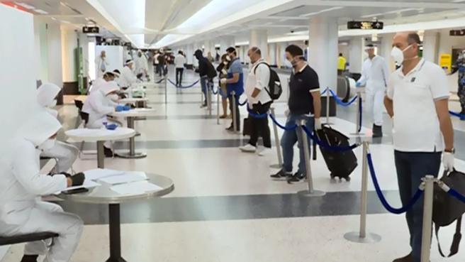 وزارةالصحة: حالة ايجابية واحدة في الرحلات القادمة إلى بيروت بتاريخ 11 تموز