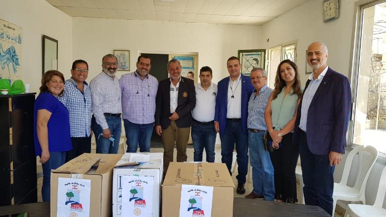 """مبادرة من """"روتاري"""": توزيع أدوية في منطقة الجرد- عاليه"""