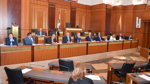 مؤتمر صحفي للجنة الإدارة والعدل النيابية لتفصيل خلاصة الجلسات