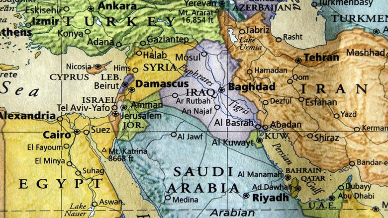 الشرق الأوسط في غرفة العناية