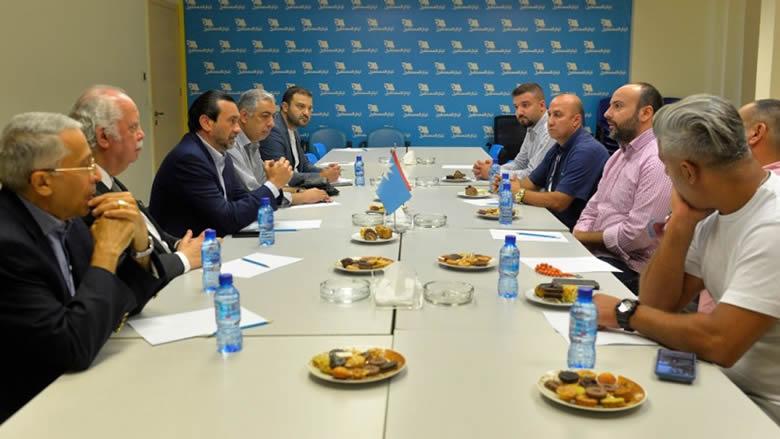 """إجتماع تنسيقي بين """"التقدمي"""" و""""المستقبل"""" في بيروت"""
