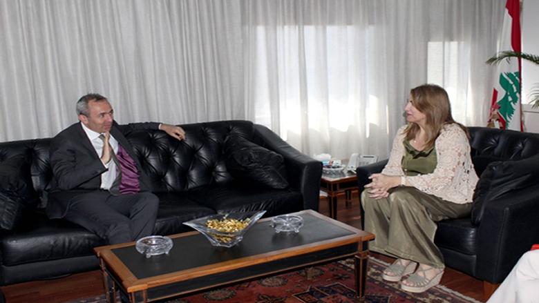 رامبلينغ التقى وزيرة العدل: استقلالية القضاء مهمة خصوصا في الظروف الحالية