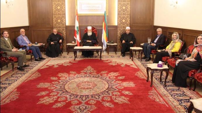شيخ العقل التقى اتحاد المؤسسات التربوية الخاصة والقاضي أبو غيدا
