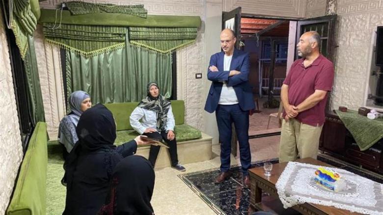 وزير الصحة قدم التعازي لعائلة الطفلة ريحانة شقير في بعلبك