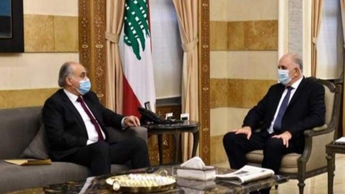 ابو الحسن عرض الأوضاع العامة مع وزير الداخلية