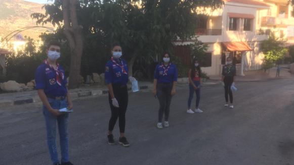 """""""التقدمي""""-حاصبيا يجدد حملة التوعية: توزيع منشورات وكمامات في القرى"""