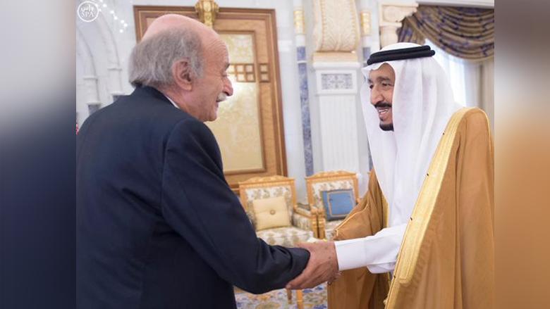 جنبلاط اطمأن إلى صحة الملك السعودي
