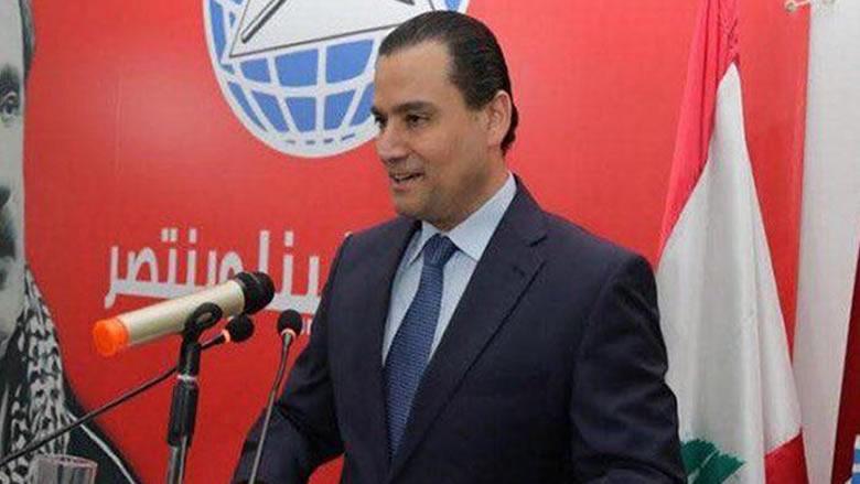 الصايغ: نؤيد أي حوار يخرج لبنان من التناتش الحاصل