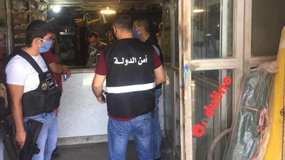 مراقبو مصلحة حماية المستهلك جالوا على المحال المخصصة لبيع مواد البناء في منطقة الجومة