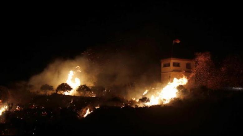 إسرائيل تقصف أهدافاً عسكرية سورية رداً على إطلاق نار باتجاه الجولان